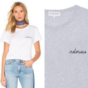 Maison Labiche Notorious T-shirt Grey Unisex